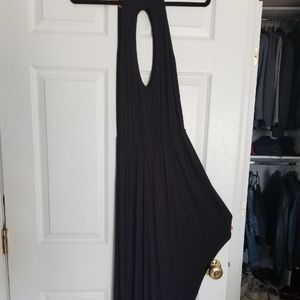 High low keyhole dress